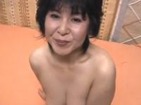 【無修正】52歳の素人熟女とオナニーからハメ撮りセックス!