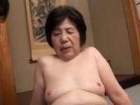 【高齢熟女】古希七十路の祖母をはげまそうとマゴが婆ちゃんとセックス!