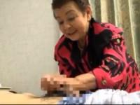【超高齢熟女】なんと八十三歳の傘寿お婆さんマゴと中出しセックス!人生百年時代バンザイ!